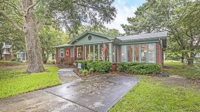 Isle Of Palms Single Family Home Contingent: 8 Chapman Avenue