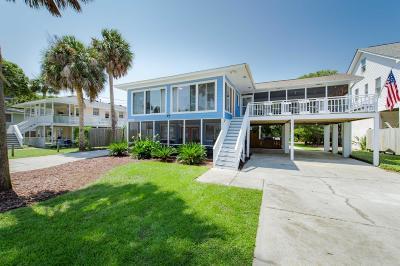 Folly Beach Single Family Home Contingent: 704 W Ashley Avenue