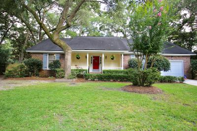 Charleston Single Family Home For Sale: 3 S Hampton Drive