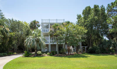 Isle Of Palms Single Family Home For Sale: 3200 Waterway Boulevard