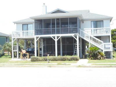 Edisto Beach Single Family Home For Sale: 2812 Palmetto Boulevard