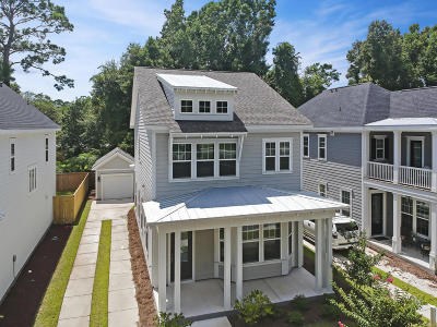 Charleston Single Family Home For Sale: 1880 Fleming Woods Road