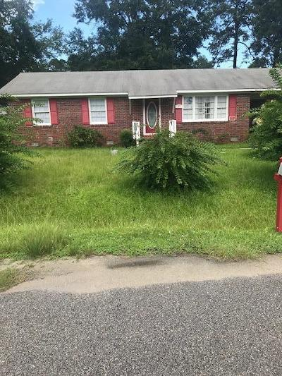 Walterboro Single Family Home For Sale: 161 Palm Street