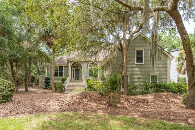 Seabrook Island Single Family Home For Sale: 2927 Seabrook Island Road