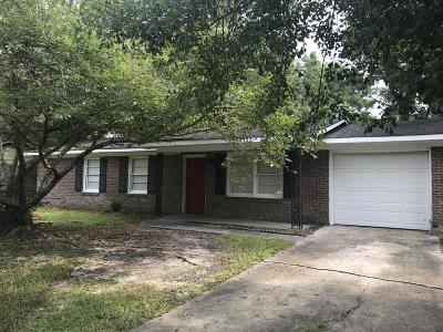 Ladson Single Family Home Contingent: 4452 Garwood Drive