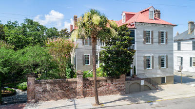 Charleston Single Family Home For Sale: 58 South Battery