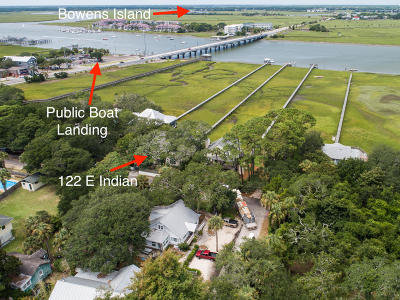 Folly Beach Single Family Home For Sale: 122 E Indian Avenue