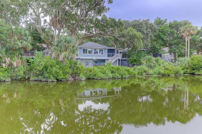 Isle Of Palms Single Family Home For Sale: 17 Twin Oaks Lane