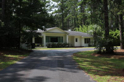 Walterboro Single Family Home For Sale: 414 Churchill Road