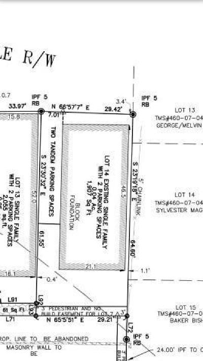 Charleston Residential Lots & Land For Sale: 1 Kennedy Court