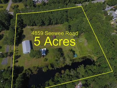 Residential Lots & Land For Sale: 4859 Seewee Road
