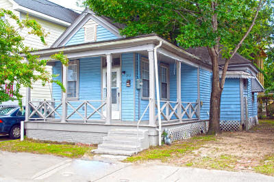 Single Family Home For Sale: 353 Huger Street