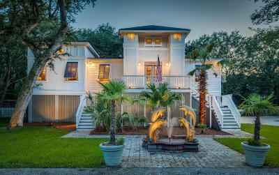 Isle Of Palms Single Family Home For Sale: 33 31st Avenue
