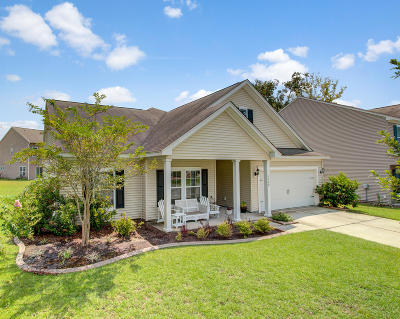 North Charleston Single Family Home For Sale: 5400 Turning Tide