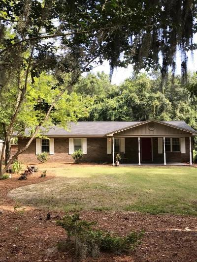 Wadmalaw Island Single Family Home Contingent: 2467 Leadenwah Drive
