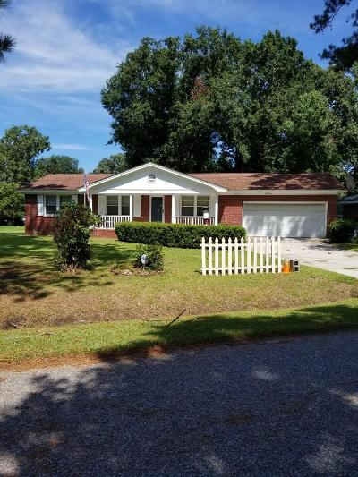 Charleston Single Family Home Contingent: 2058 Bishop Drive