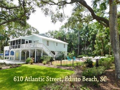 Edisto Beach SC Single Family Home For Sale: $585,000