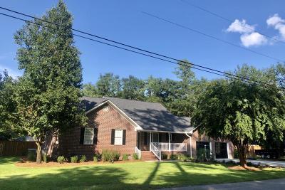 Walterboro Single Family Home Contingent: 310 Silverhill Road