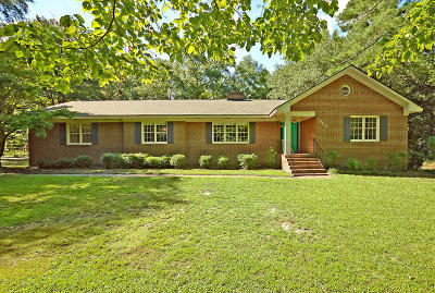 Summerville Single Family Home For Sale: 113 W Johnston St