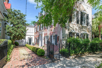 Single Family Home For Sale: 53 Legare Street