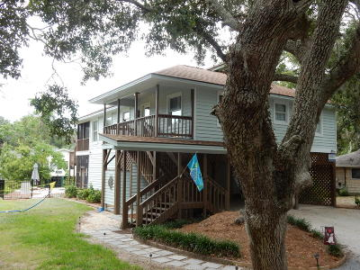 Edisto Beach Single Family Home For Sale: 1406 Jungle Road
