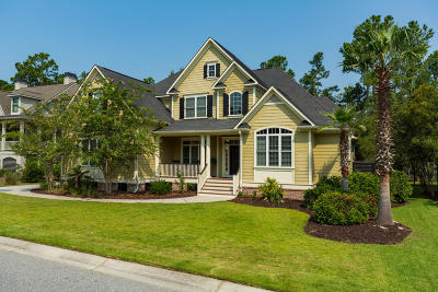 Mount Pleasant Single Family Home Contingent: 1821 W Canning Drive