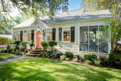 Charleston Single Family Home Contingent: 51 Beverly Road