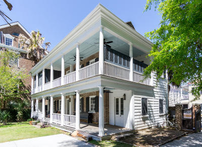 Charleston Single Family Home For Sale: 173 Wentworth Street