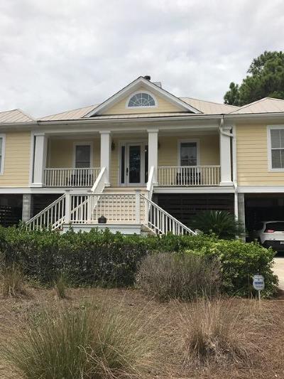 Folly Beach Single Family Home For Sale: 510 W Beach Court