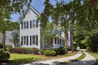 Mount Pleasant Single Family Home For Sale: 1537 Appling Drive