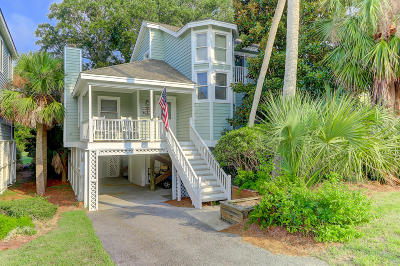 Isle Of Palms Single Family Home Contingent: 26 Pelican Reach