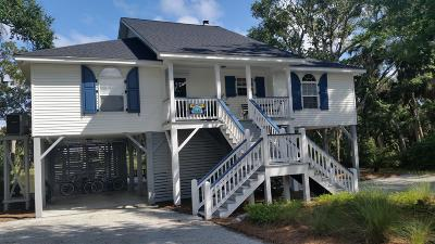 Edisto Beach Single Family Home Contingent: 712 Jungle Road