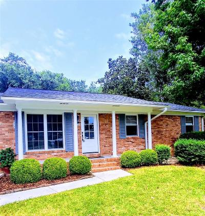 Mount Pleasant Single Family Home For Sale: 885 Randall Drive