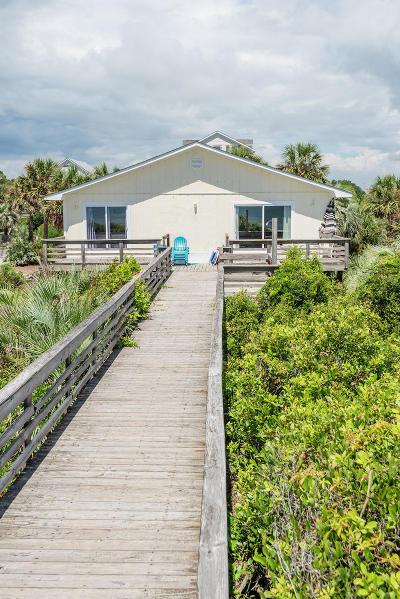 Folly Beach Single Family Home For Sale: 1009 W Ashley Avenue