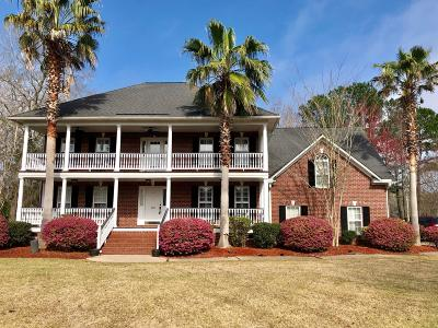 Goose Creek Single Family Home Contingent: 123 Thames Drive