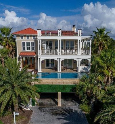 Isle Of Palms Single Family Home For Sale: 411 Ocean Boulevard
