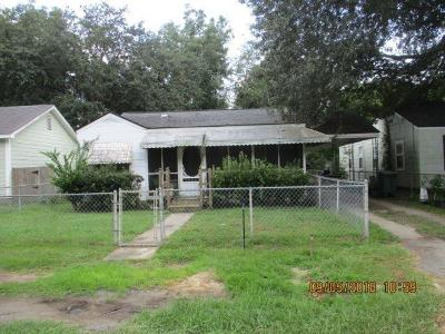 Single Family Home For Sale: 5821 Moore Street