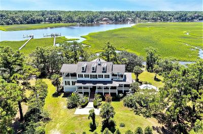Edisto Island Single Family Home For Sale: 2121 Osprey Watch Lane #Lots A-1