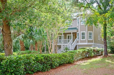 Seabrook Island Single Family Home For Sale: 3076 Seabrook Village Drive