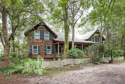 Wadmalaw Island Single Family Home For Sale: 1924 Long Creek Road