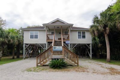 Edisto Island Single Family Home Contingent: 3106 Myrtle Street