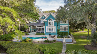 Kiawah Island Single Family Home Contingent: 37 Shoolbred Court