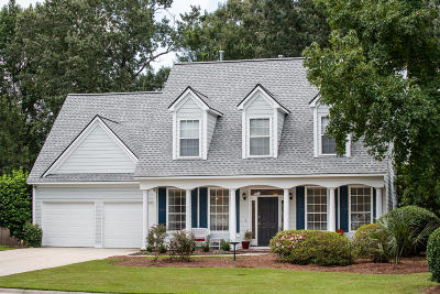 Mount Pleasant Single Family Home For Sale: 1111 Black Rush Circle