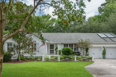 Mount Pleasant Single Family Home Contingent: 985 Colonial Drive