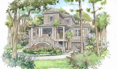 Seabrook Island Single Family Home For Sale: 2445 Bateau Trace