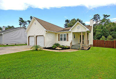 Goose Creek Single Family Home Contingent: 214 Two Hitch Road