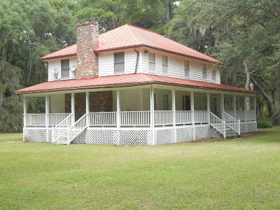 Edisto Island SC Single Family Home Contingent: $318,500