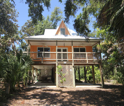 Edisto Beach Single Family Home Contingent: 713 Jungle Road