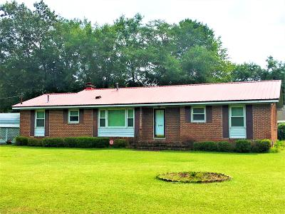 Walterboro Single Family Home For Sale: 222 Maxey Street