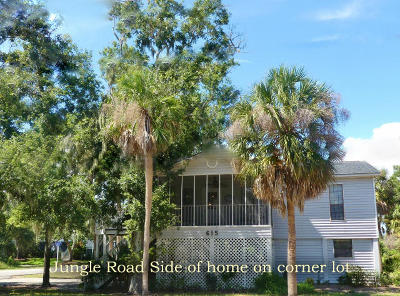 Edisto Island SC Single Family Home Contingent: $398,900